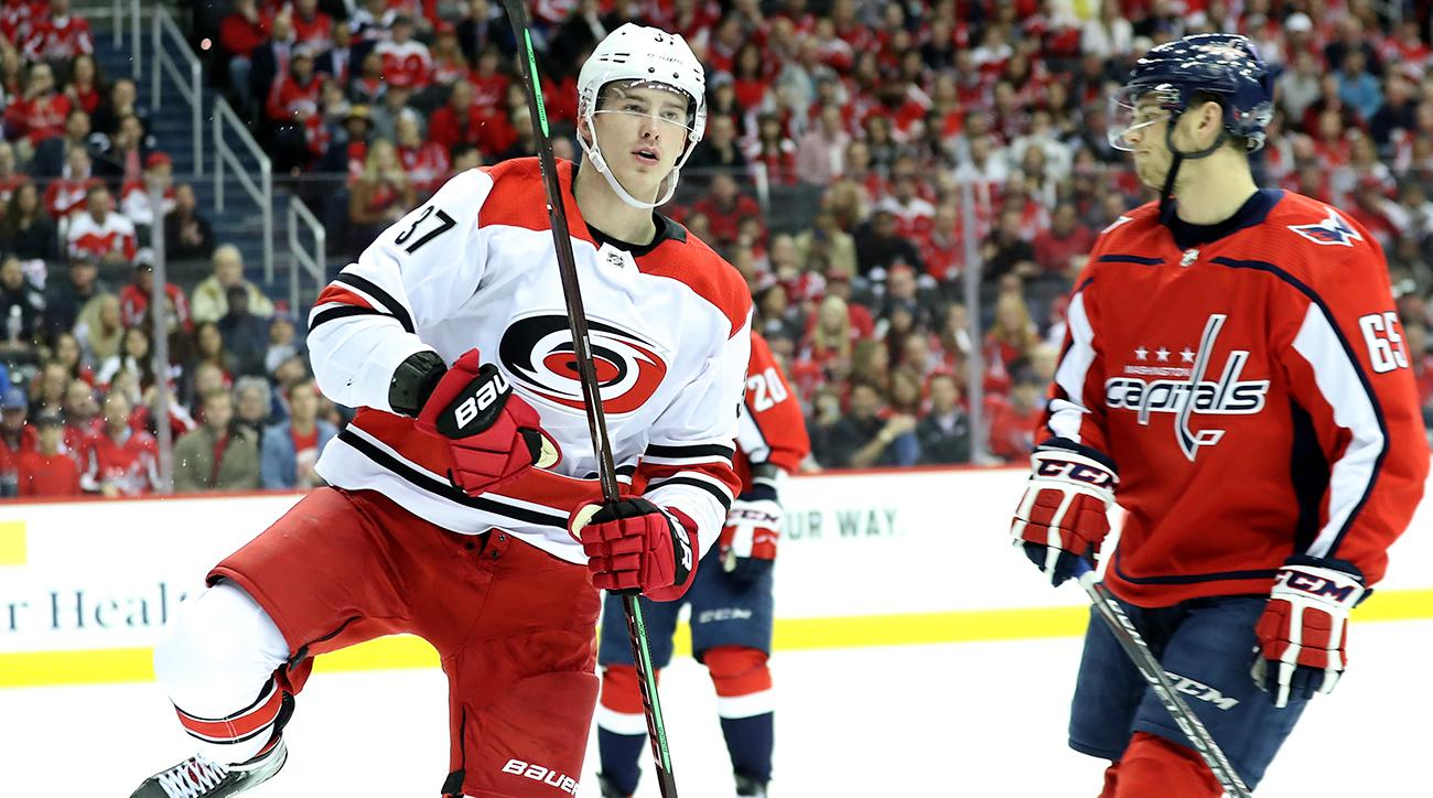 Carolina Hurricanes v Washington Capitals - Game One