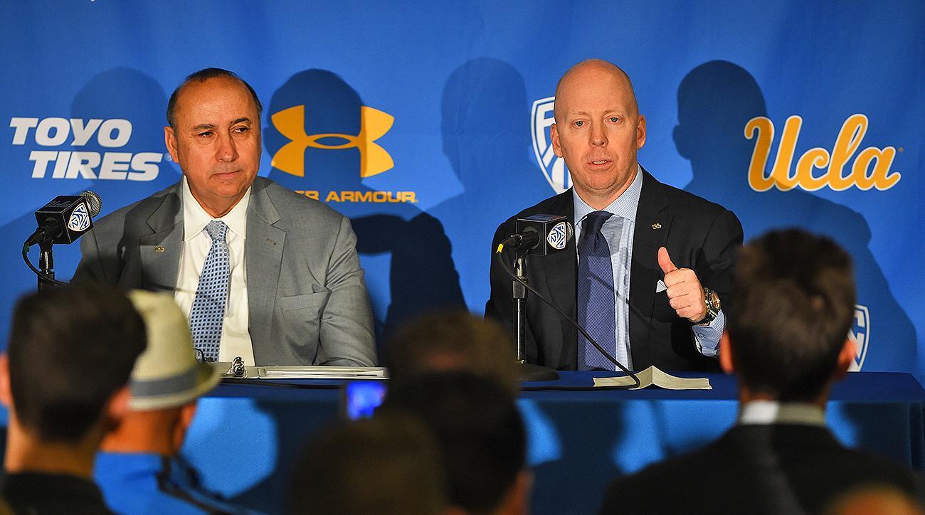 UCLA basketball coach search Mick Cronin Westwood Bruins Pac 12