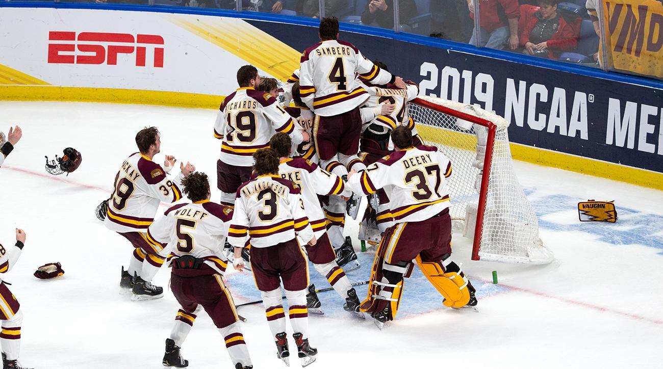 Frozen Four: Minnesota Duluth Beats UMass, Wins Second