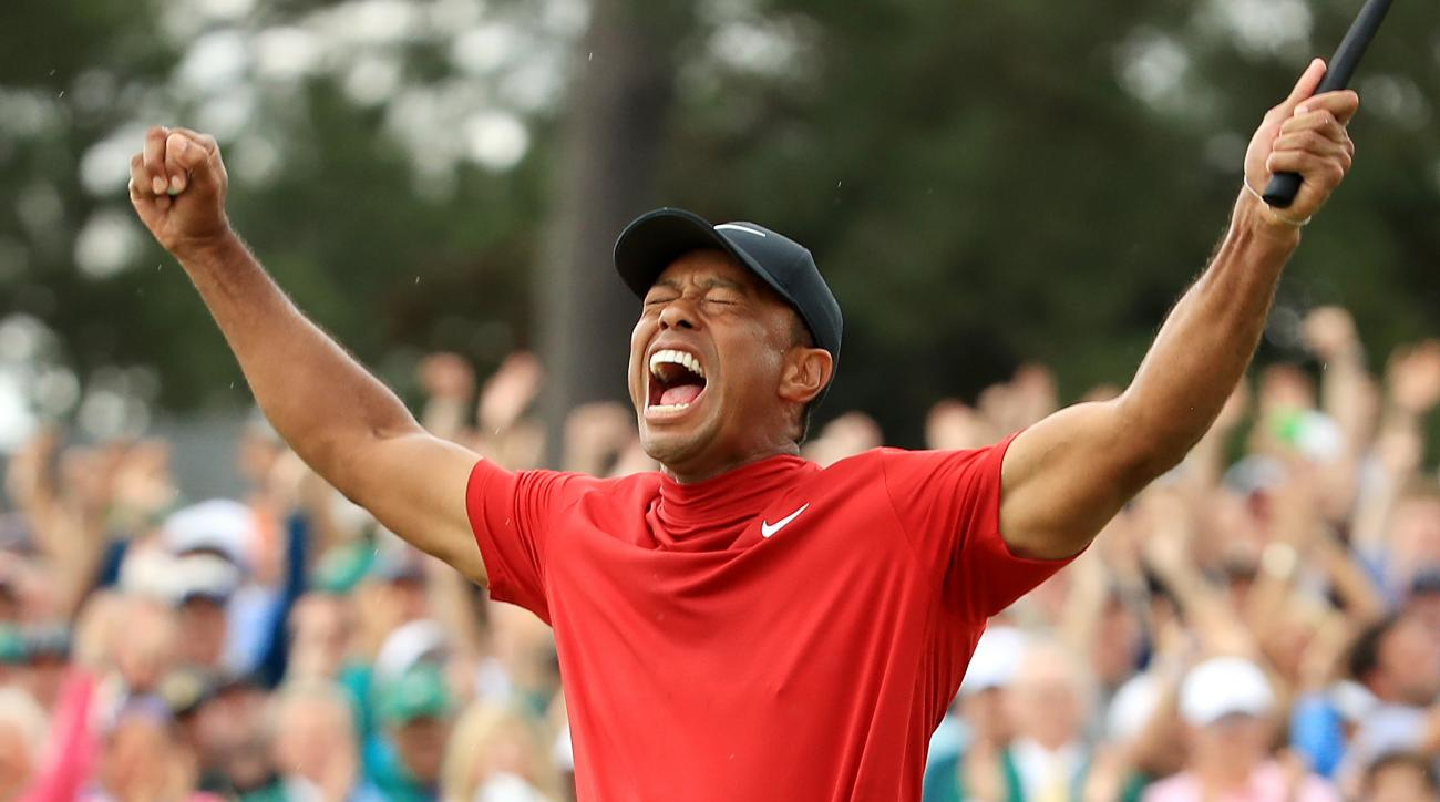 87d9db542cabe Tiger Woods Masters: Nike releases ad after 15th major championship ...