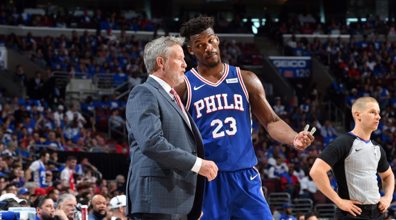 low priced 8eb8c 6ca31 2019 NBA Playoffs  The 76ers  crisis and more takeaways from opening  weekend   SI.com