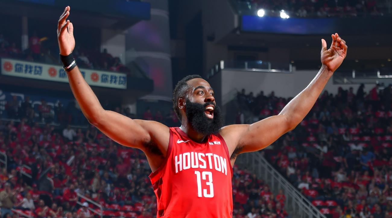 James Harden Chris Paul Rockets Ready For Warriors In Playoffs