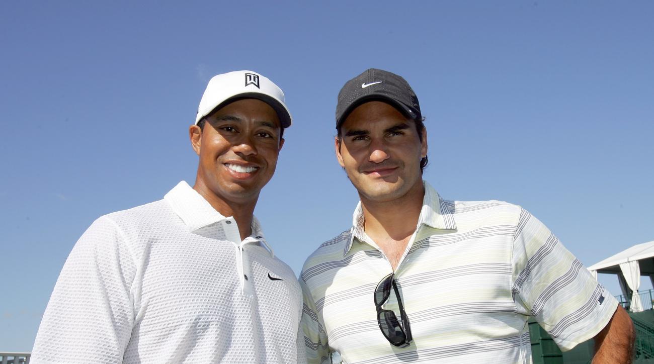 Roger Federer Tiger Woods comebacks
