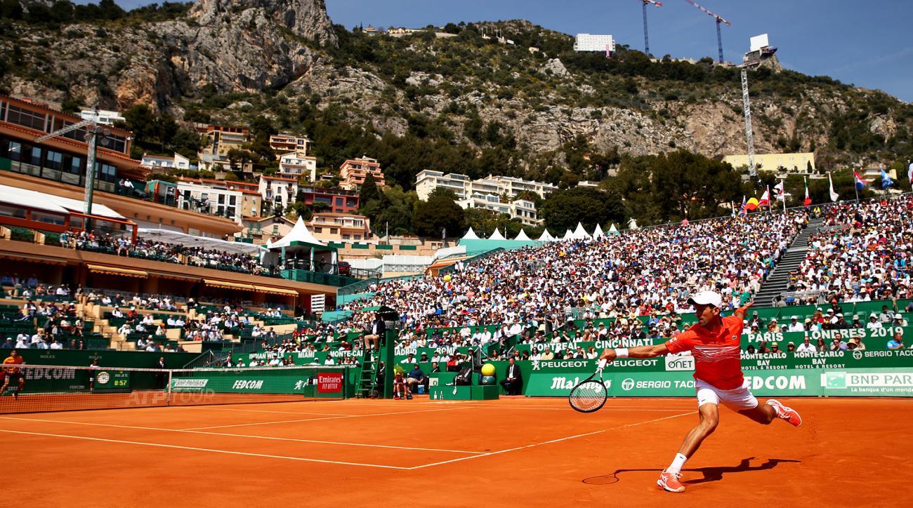 Novak Djokovic monte carlo masters
