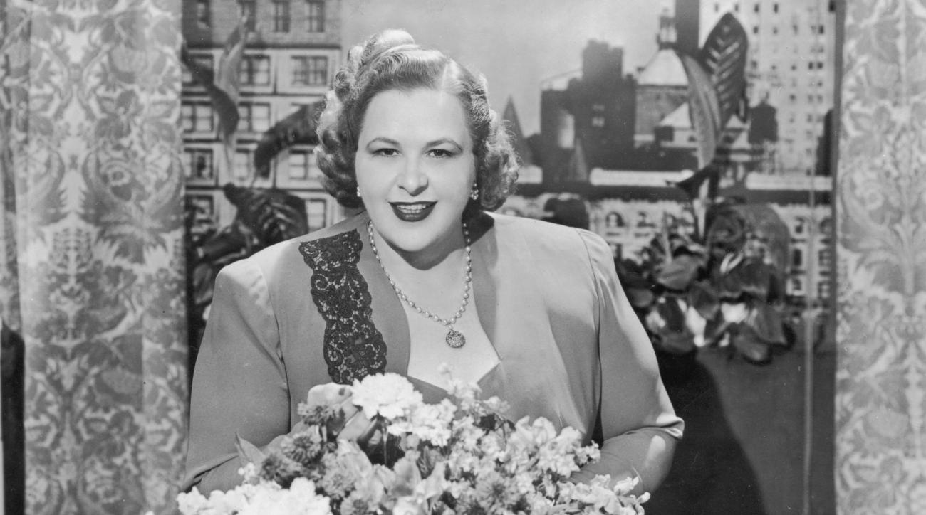 Report: Flyers Cut Ties With 'God Bless America' Singer Kate Smith After Racist Lyrics