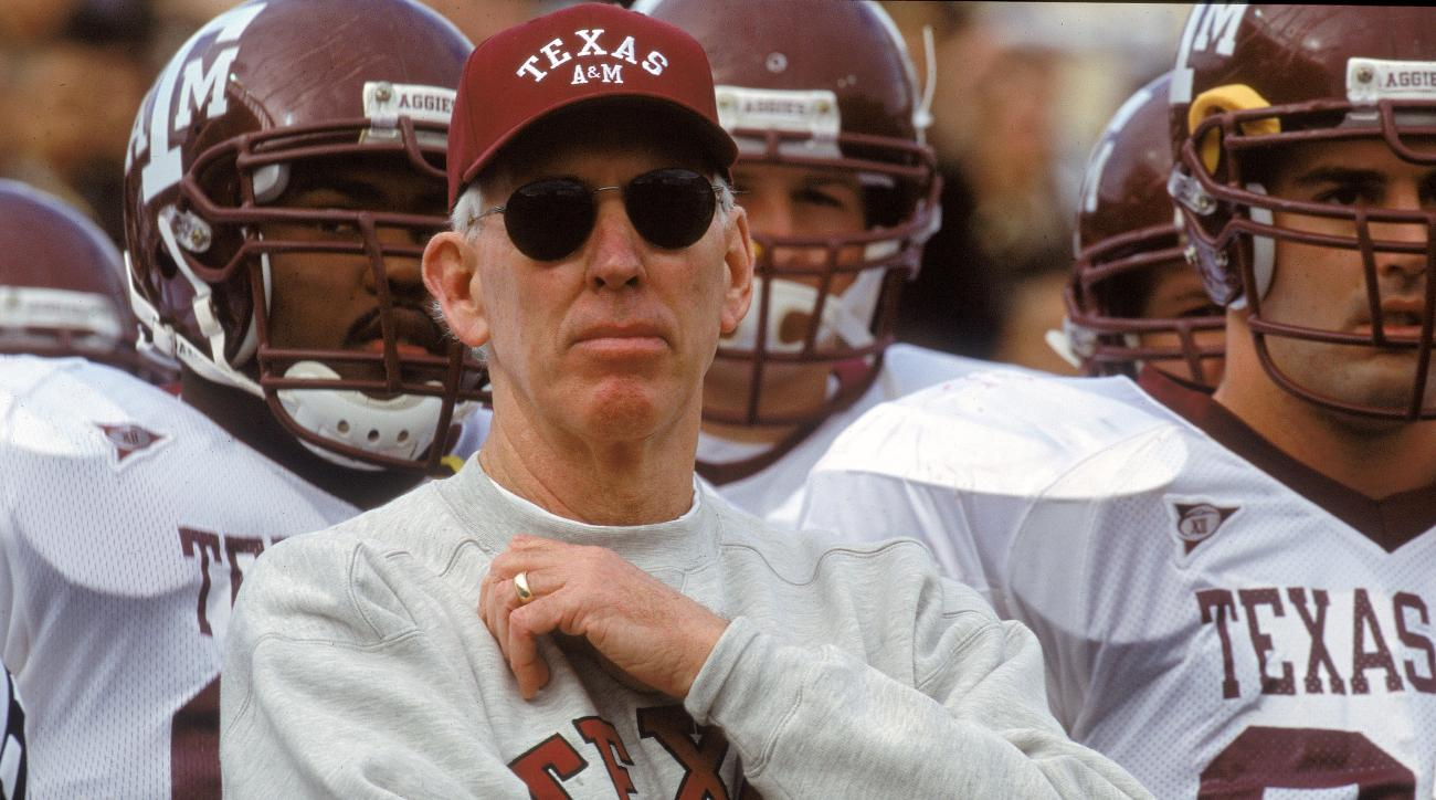 Former Texas A&M Coach R.C. Slocum Named Interim Athletic Director