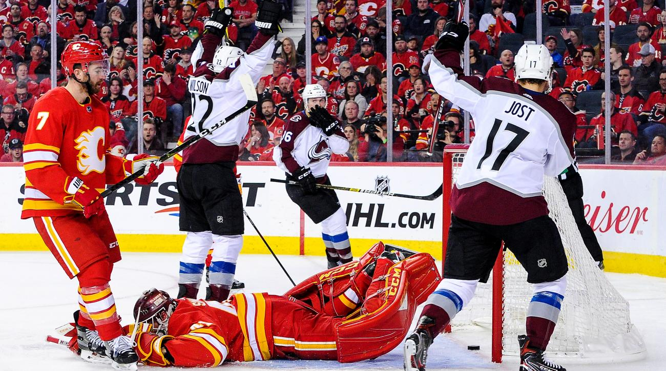 Playoff Roundup: Avalanche Extinguish Calgary's Flame, Another Top Seed Ousted in Round 1