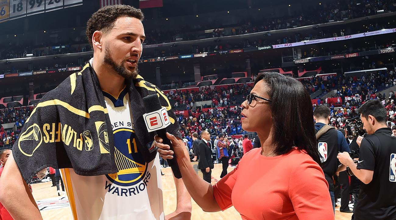 Warriors' Klay Thompson 'Jumped in the Ocean' Before Game 4 Standout Performance