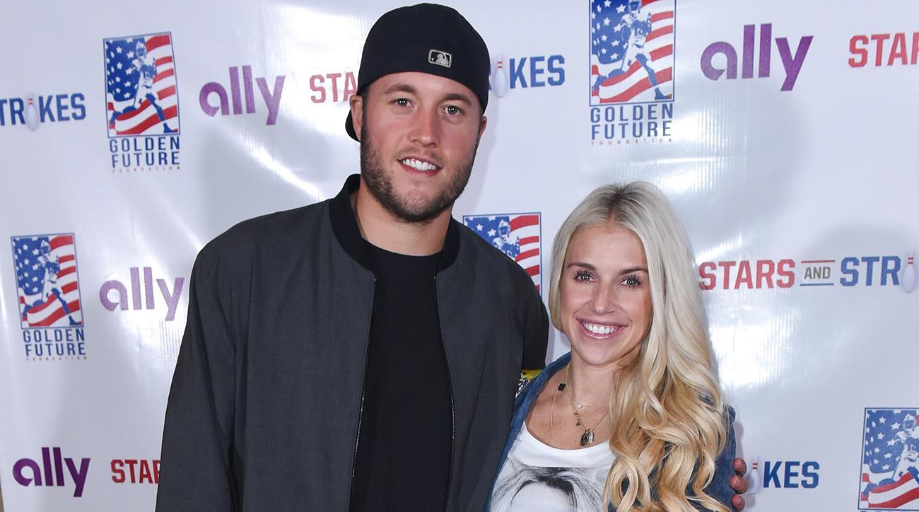 Wife of Lions quarterback Matthew Stafford has brain surgery
