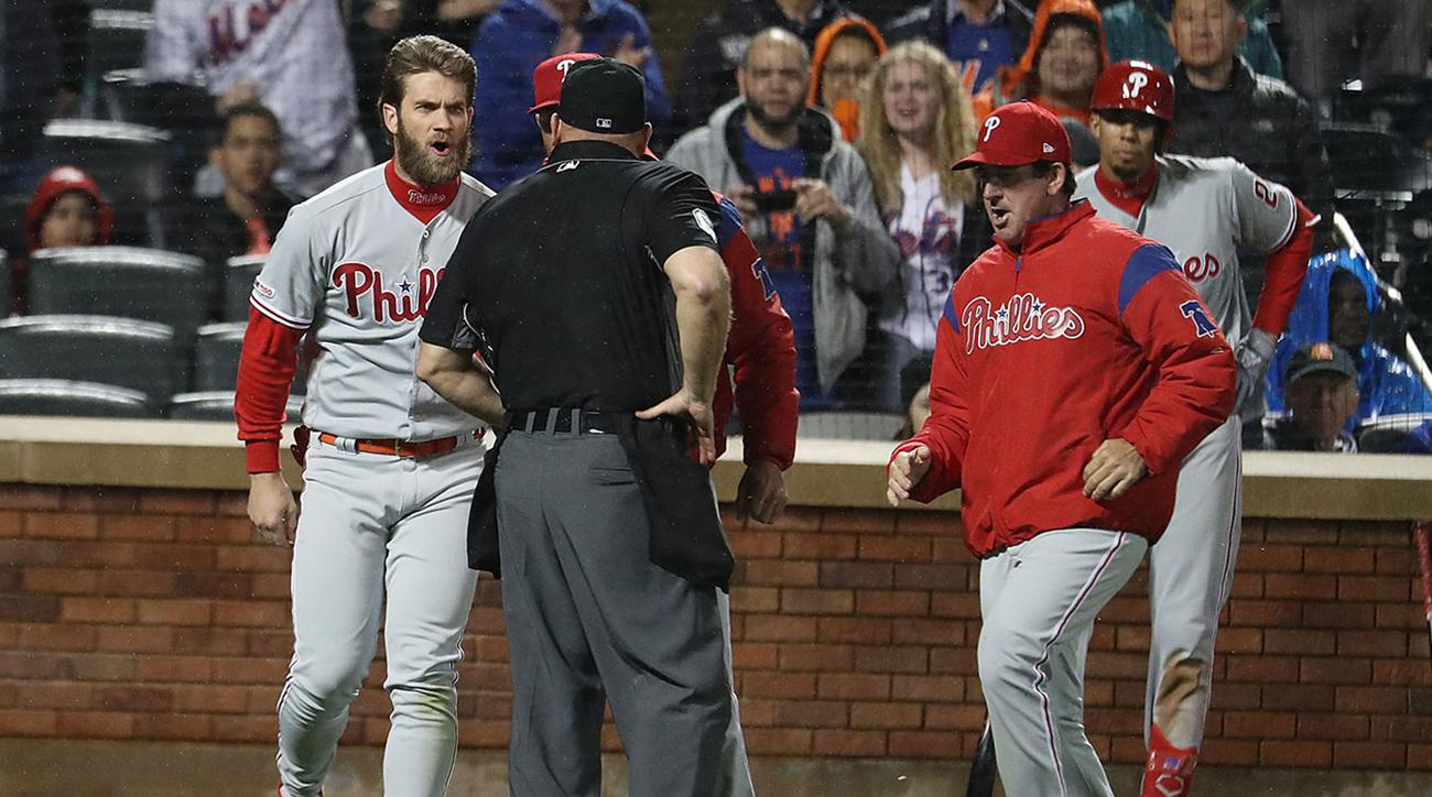 MLB looks at Harper's ejection; no decision on discipline