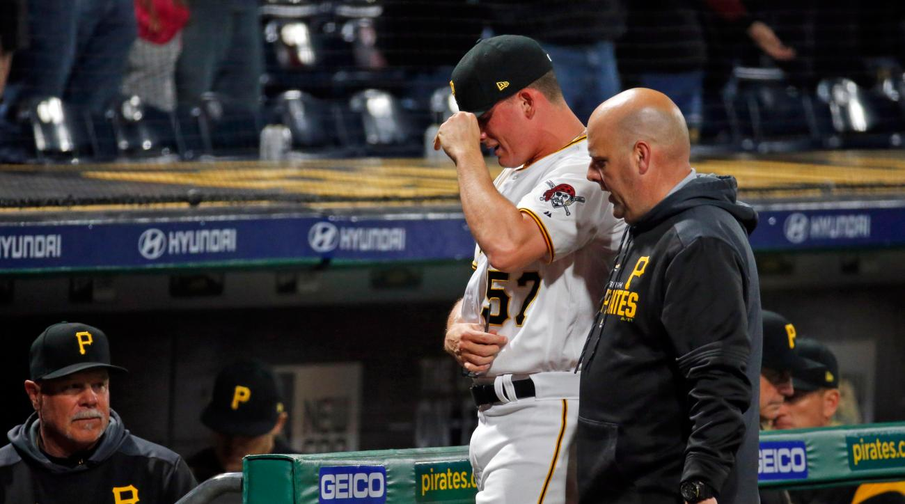 Report: Pirates SP Nick Burdi Has Strained Biceps, Won't Need Surgery