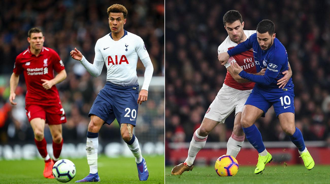 How Champions League, Europa League Winners Can Impact England's Top-4 Race