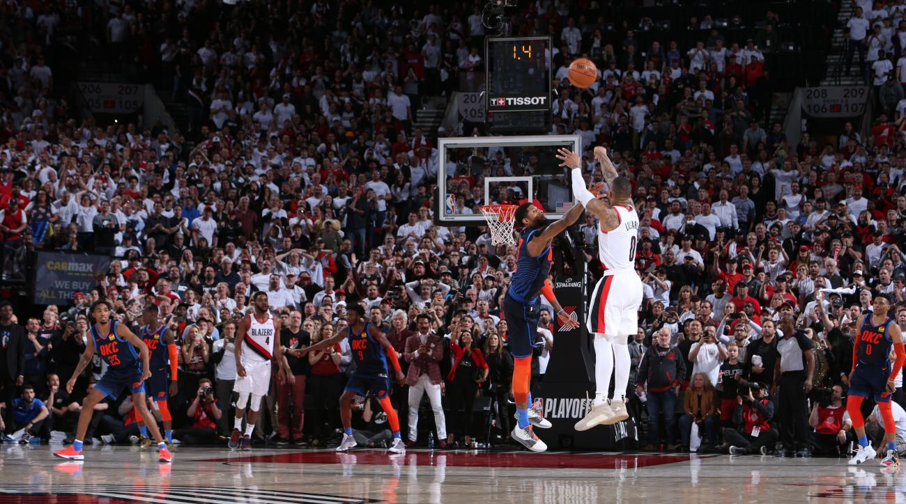 Damian Lillard's game-winning 3-pointer inspired a plethora of memes