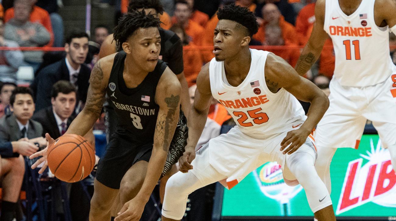 Syracuse vs. Georgetown Rivalry Renewed for Four Years Beginning in December