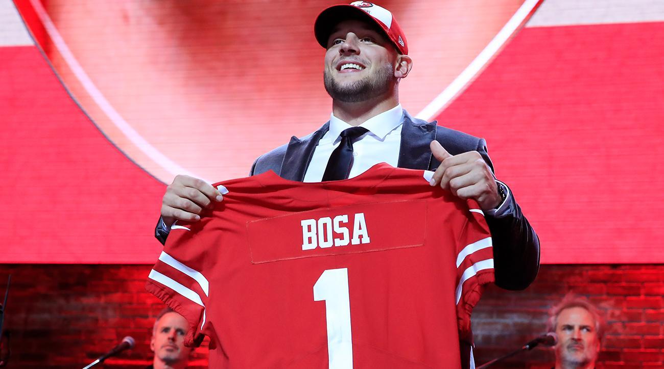 49ers DL Nick Bosa at 2019 NFL draft