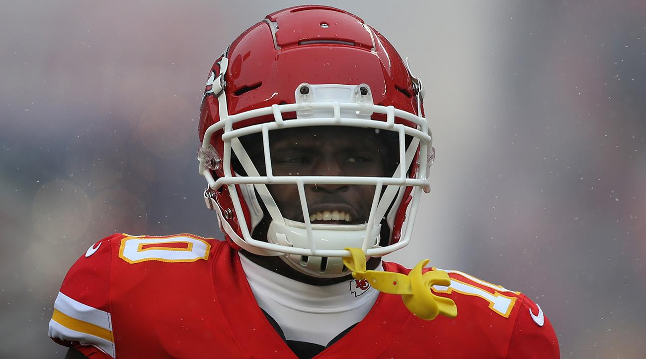 Chiefs WR Tyreek Hill