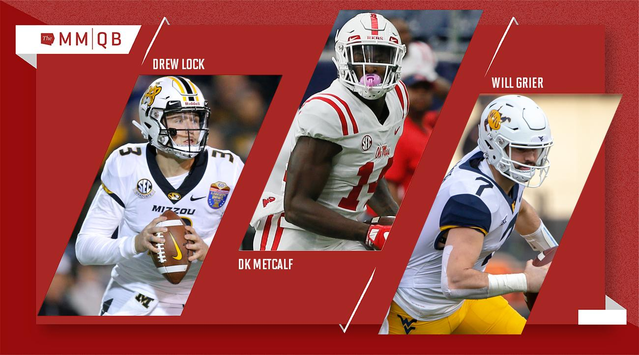 Day 2 NFL Mock Draft: Where Will Drew Lock, DK Metcalf and Will Grier Land?