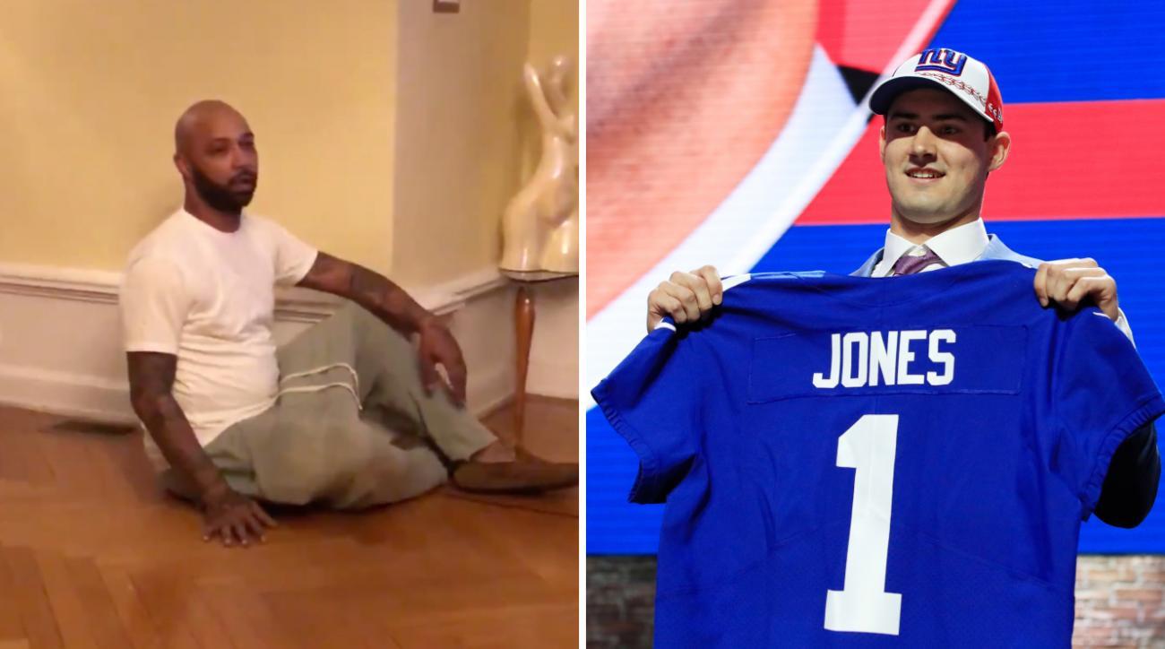 Giants fans react to Daniel Jones pick at NFL draft (video)