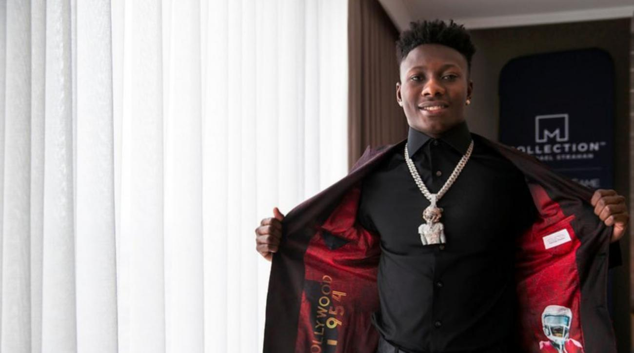 Marquise Brown's Diamond Chain of Himself Shows He's Ready for the NFL