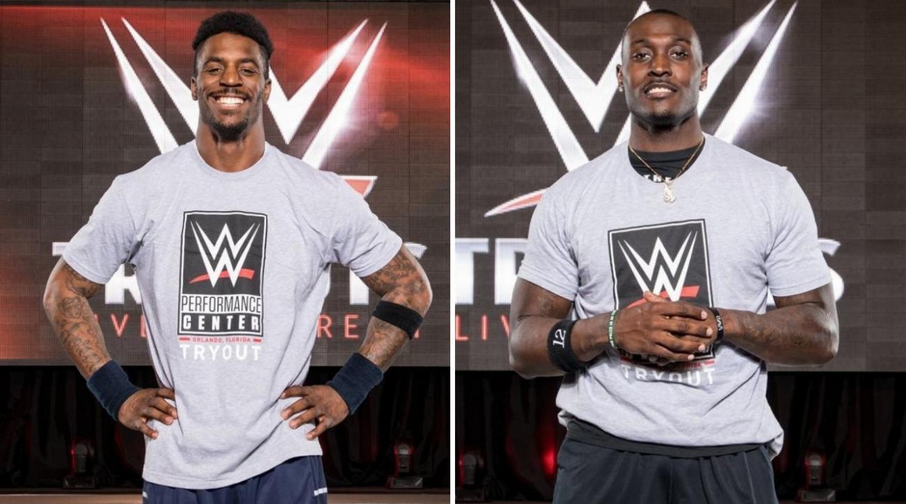 WWE tryouts: NFL players James Wilder, Taiwan Jones attend