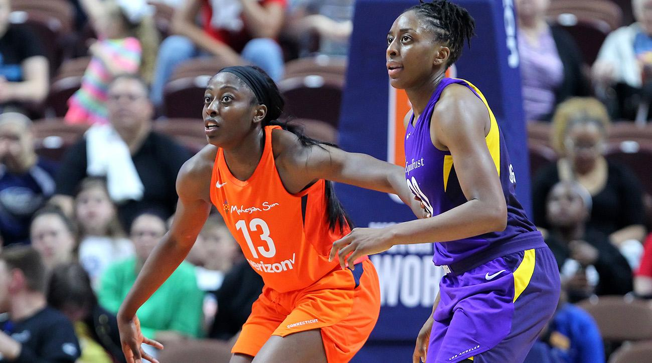 WNBA: MAY 24 Los Angeles Sparks at Connecticut Sun