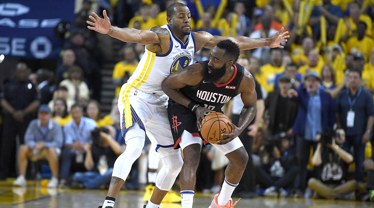 174e0539900c Andre Iguodala Is Leading the Warriors  Attempt to Neutralize James Harden