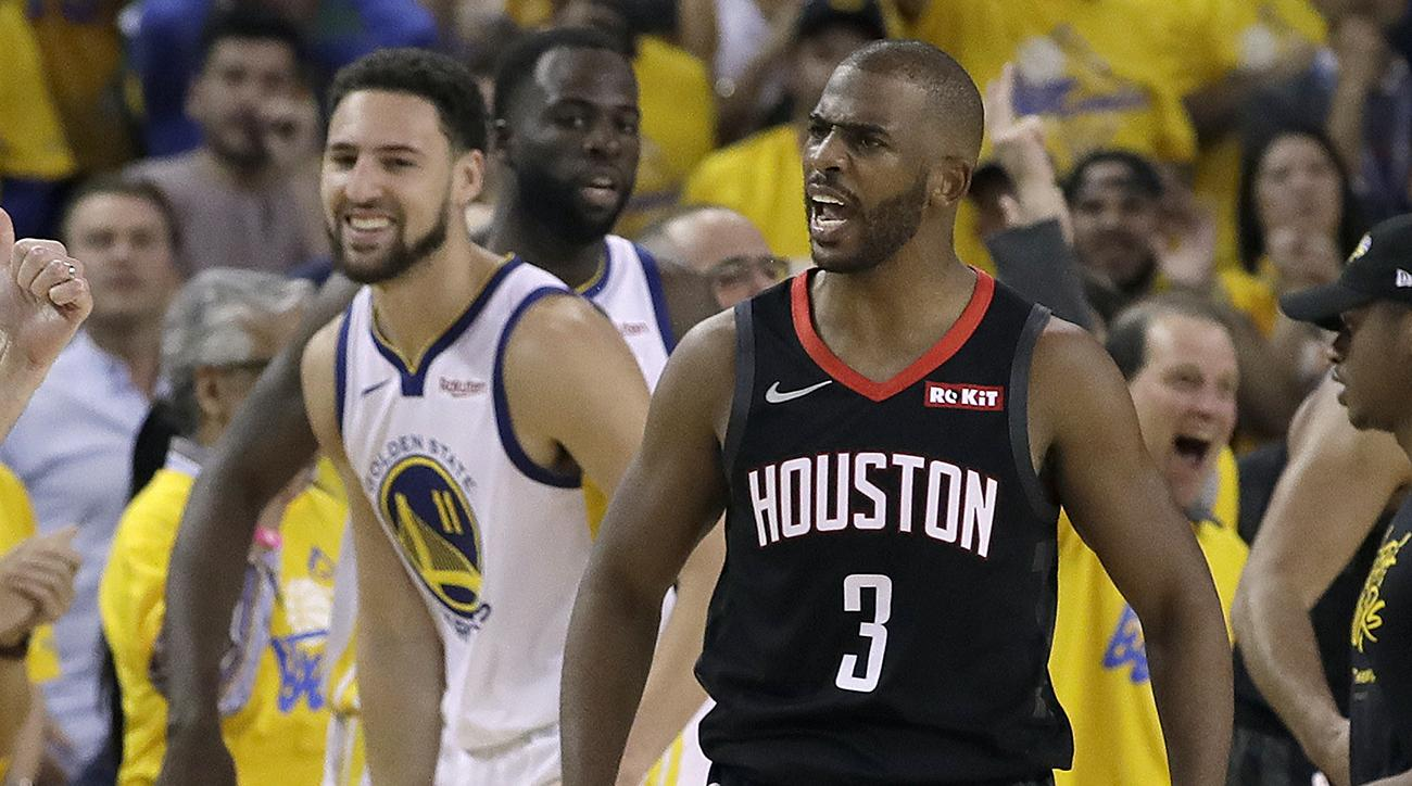 chris paul, chris paul fine, chris paul ejected, warriors, rockets, houston rockets, golden state warriors
