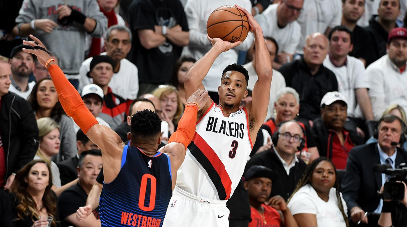 2f0bf4c797d NBA Playoffs  CJ McCollum is key to Blazers  postseason success
