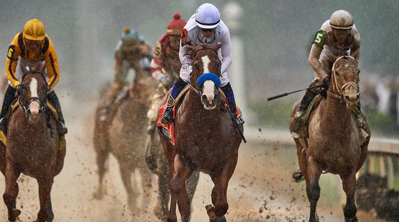 Kentucky Derby favorite Omaha Beach scratched because of a breathing problem