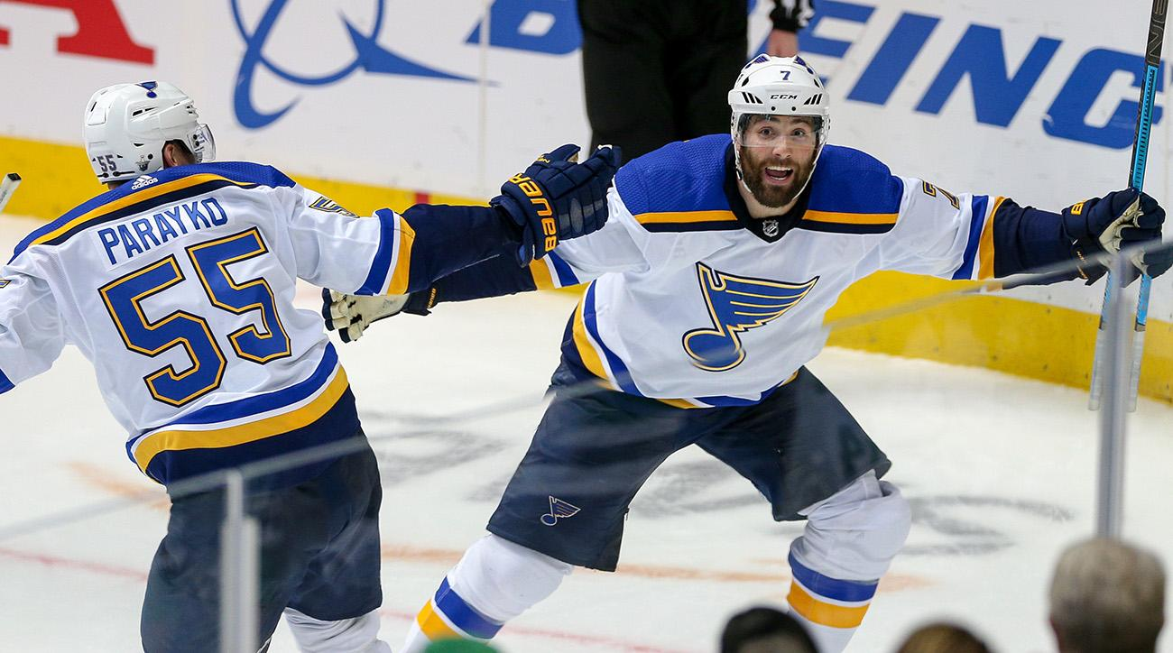 NHL: APR 29 STANLEY CUP PLAYOFFS SECOND ROUND - BLUES AT STARS