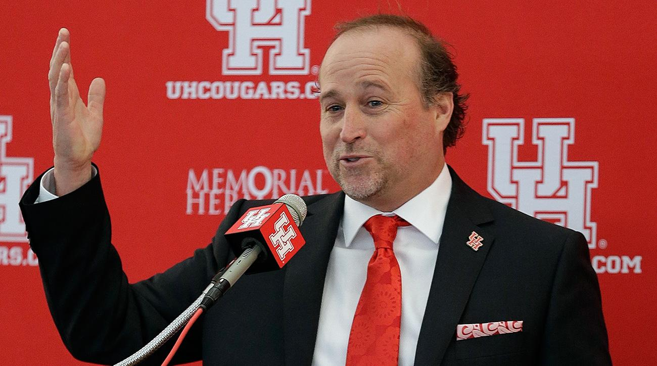 Dana Holgorsen: Houston coach at home after West Virginia move