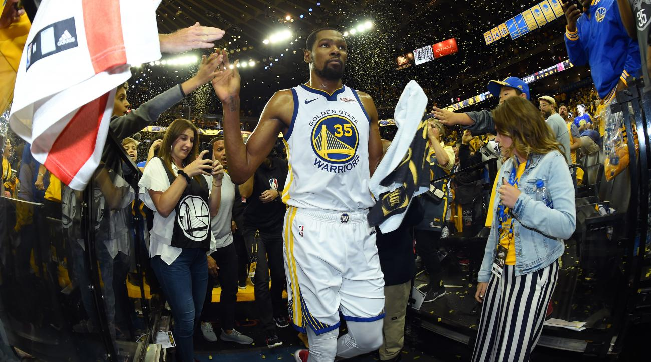 detailed look 0afd6 a0f47 Open Floor NBA Podcast: The Warriors will be tested despite ...