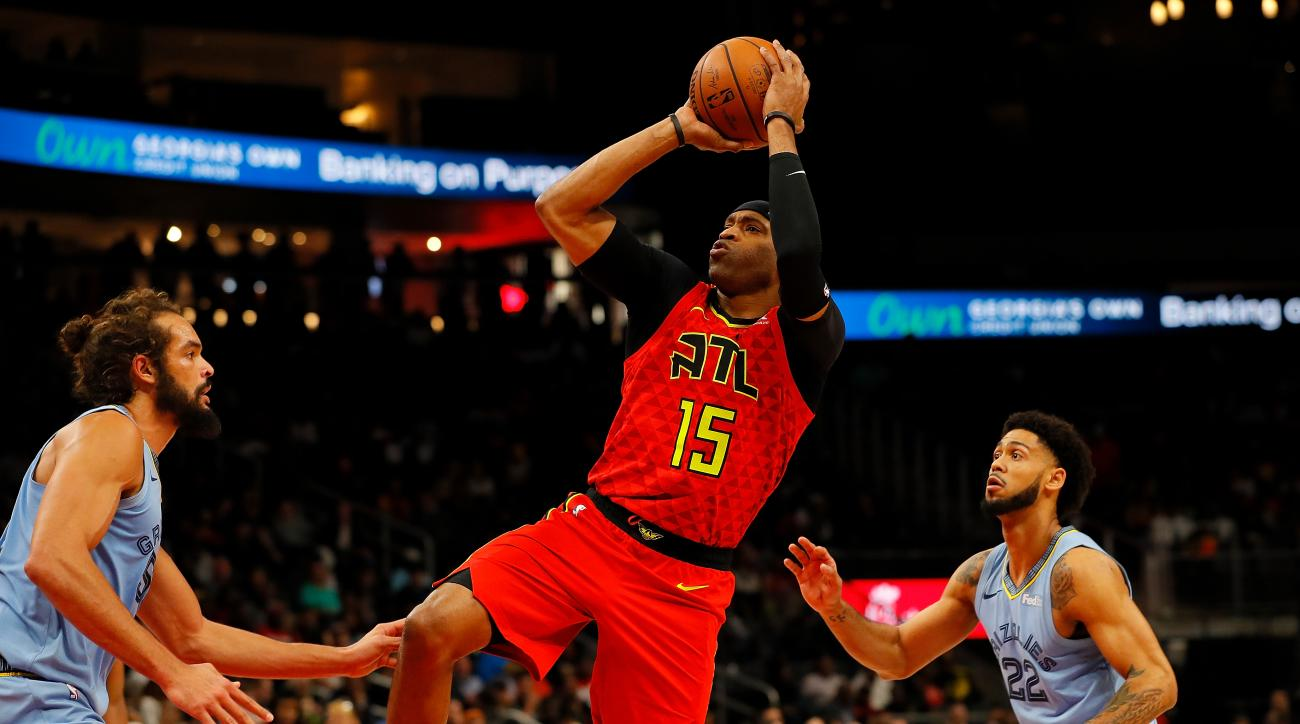 Hawks Forward Vince Carter Announces He Will Return for NBA-Record 22nd Season