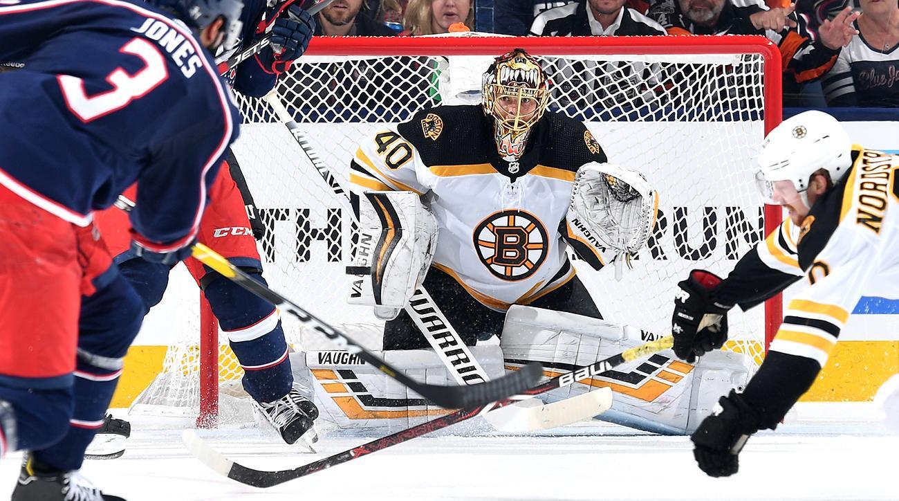 Nhl Playoffs Tuukka Rask Bruins Even Series Vs Blue Jackets Si Com