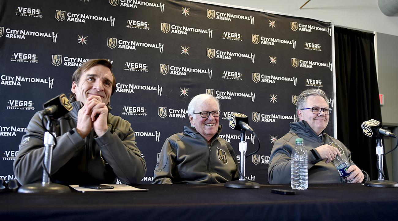 Vegas Golden Knights Introduce General Manager Kelly McCrimmon