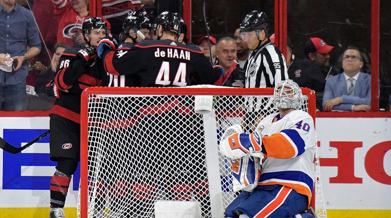 Islanders Hurricanes Game 4 Stanley Cup Playoffs