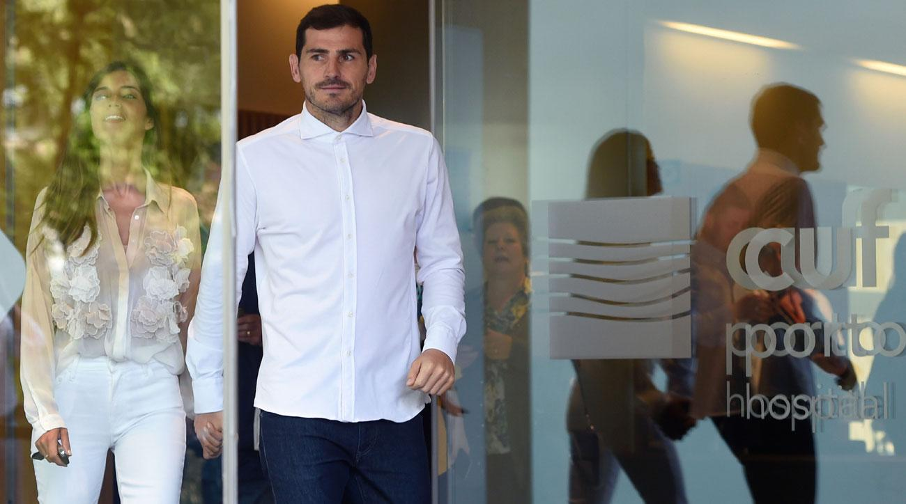 Iker Casillas released from hospital after heart attack