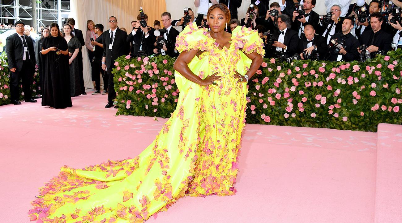 met gala, 2019 met gala, met gala fashion, 2019 met gala fashion, camp, serena williams