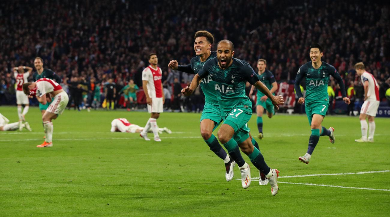 Image result for Lucas moura vs ajax