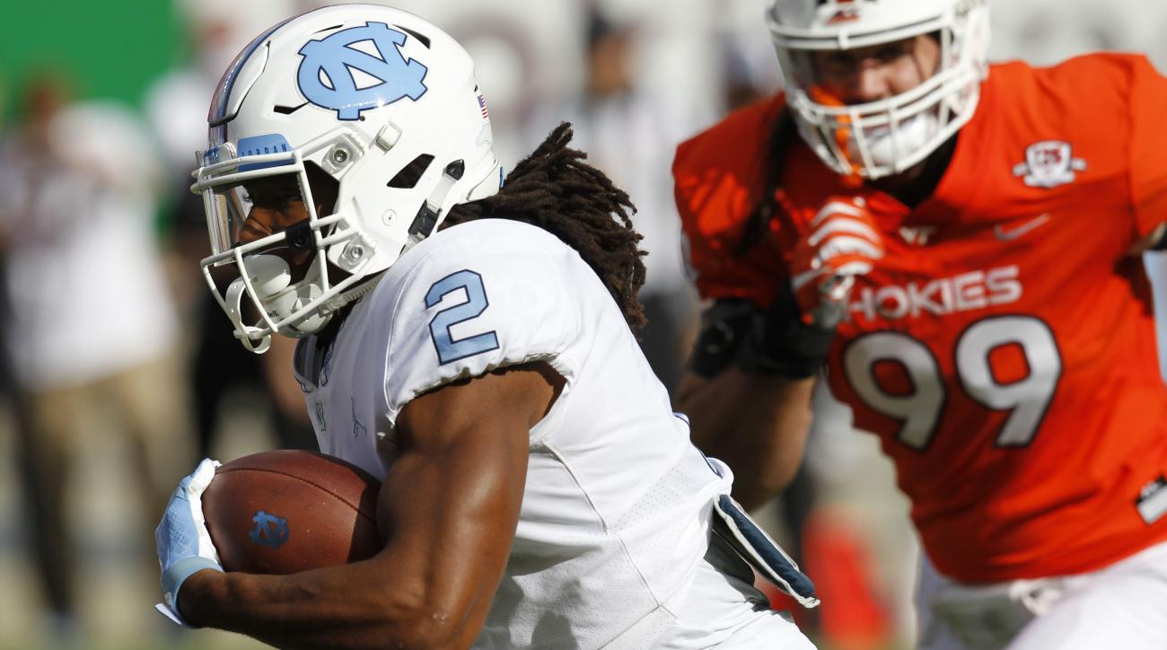 Kansas State Lands UNC RB Jordan Brown As Graduate