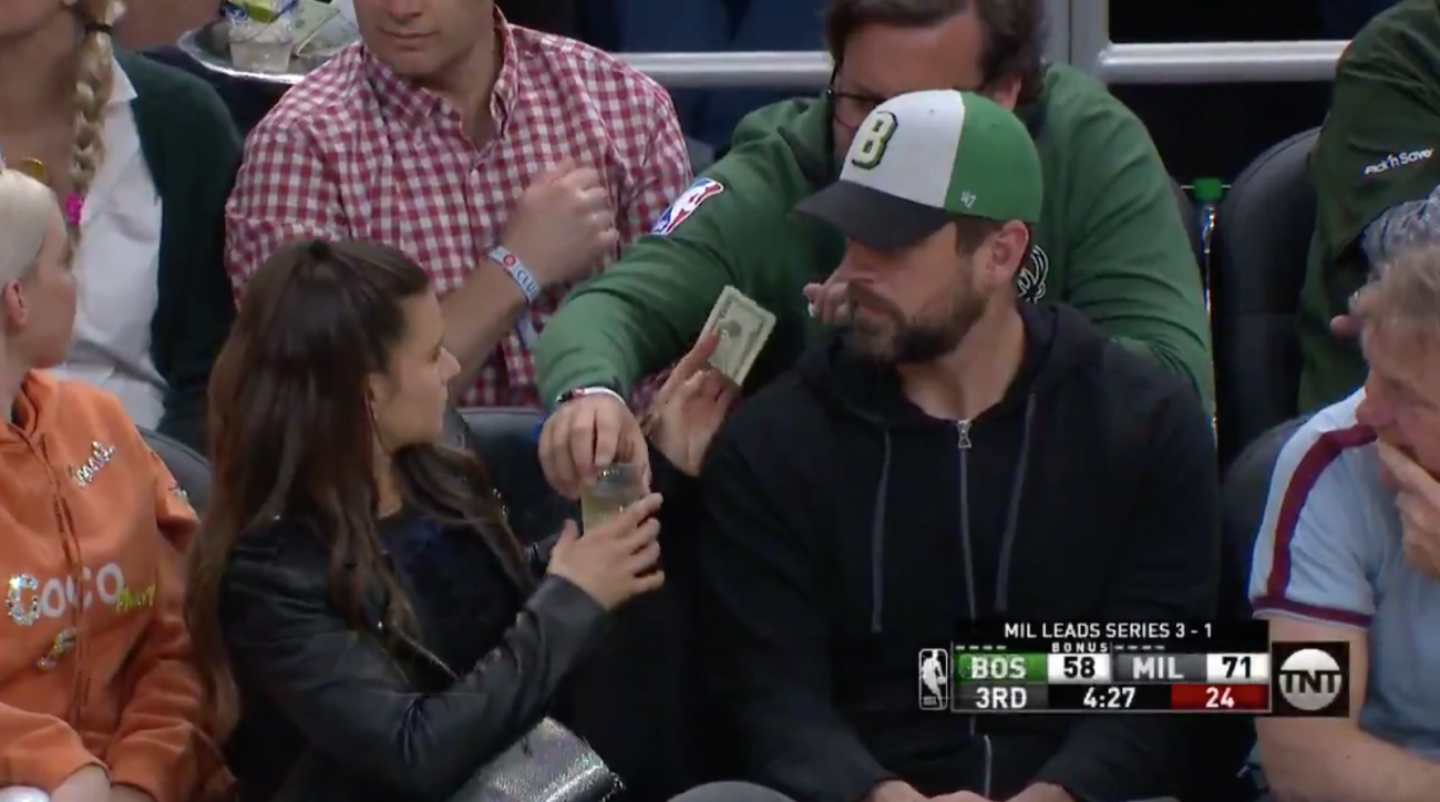 Bucks fan buys drink for Danica Patrick: The real story