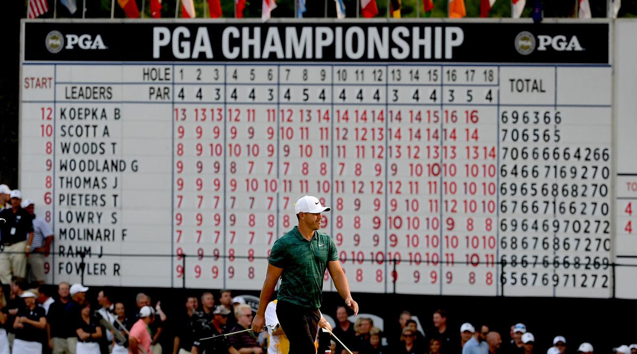 who won the pga championship last year  2018 winner