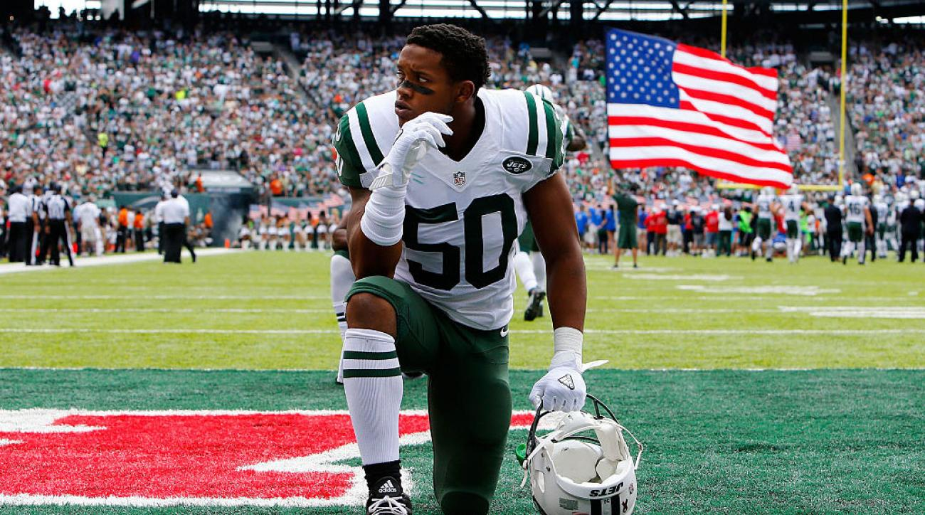 Jets Trade LB Darron Lee to Chiefs for 2020 Sixth-Round Pick
