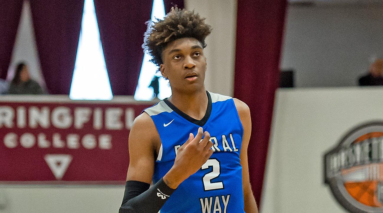 Jaden McDaniels Washington Kentucky basketball recruiting commits decision