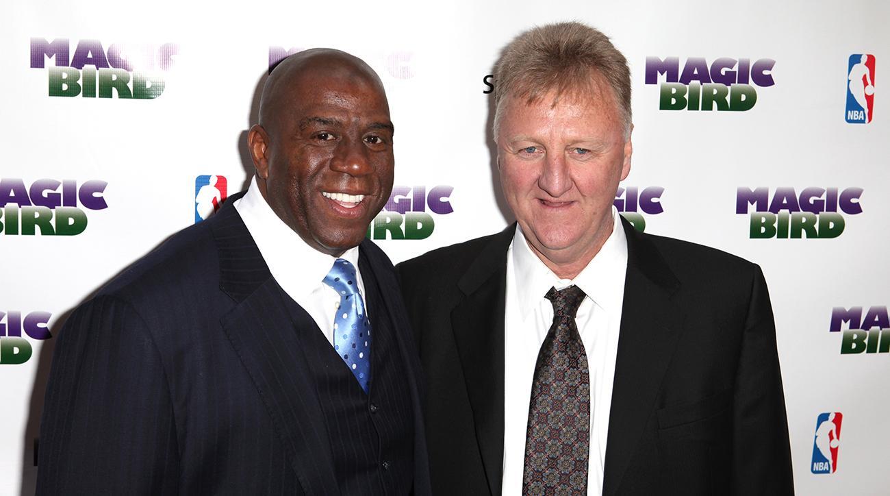Magic Johnson and Larry Bird to Receive NBA's Lifetime Achievement Award