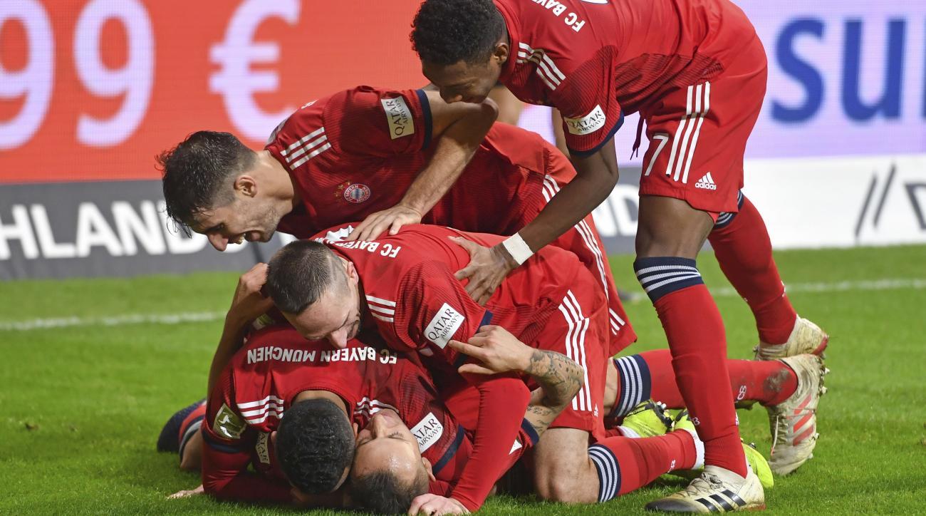 Bayern Munich vs. Eintracht Frankfurt Live Stream, TV Channel: How to Watch Bundesliga