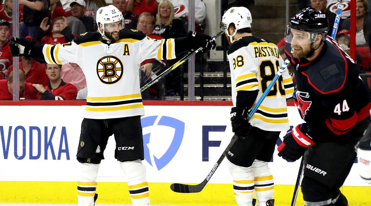 Boston Bruins v Carolina Hurricanes - Game Four