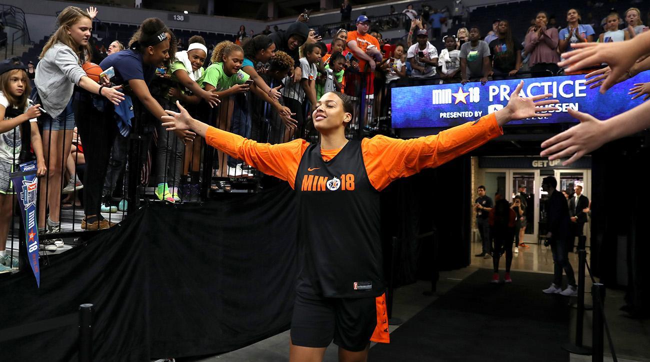 WNBA All-Star Practice and Media Availability 2018