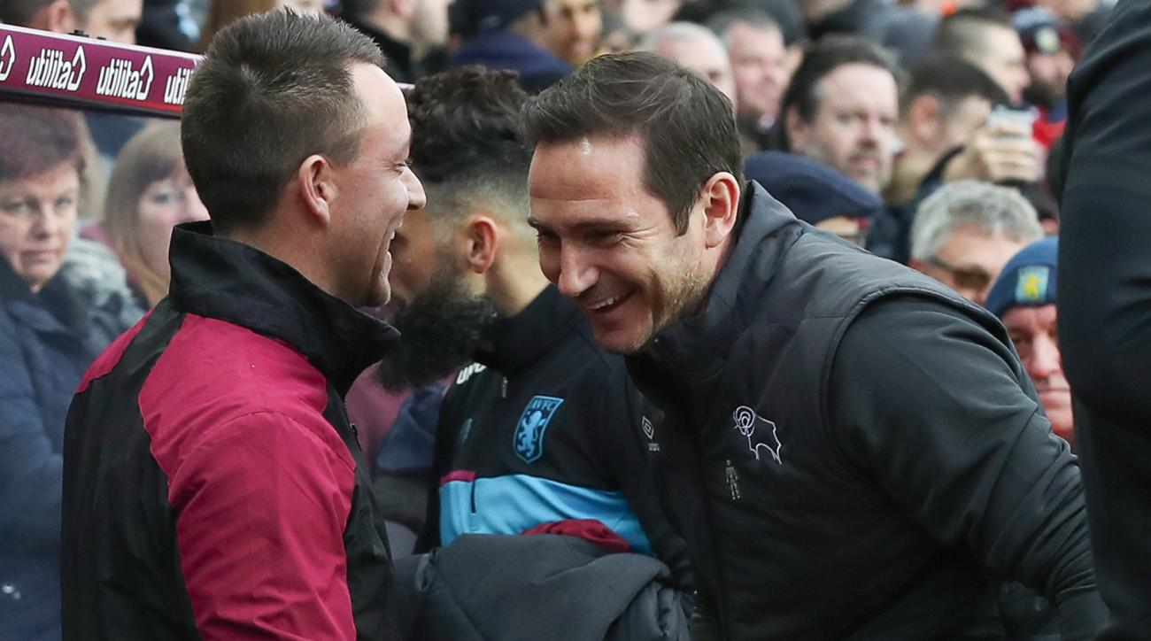 John Terry and Frank Lampard's teams go head to head for a place in the Premier League