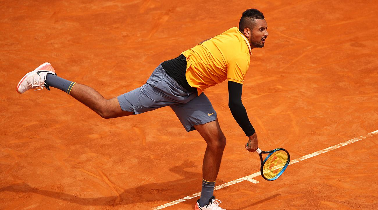 Nick Kyrgios Defaulted After Throwing Chair During Italian Open